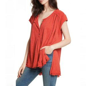 Free people- Aster Henley Breezy Top